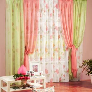 Комплект штор для комнаты «FLORA»